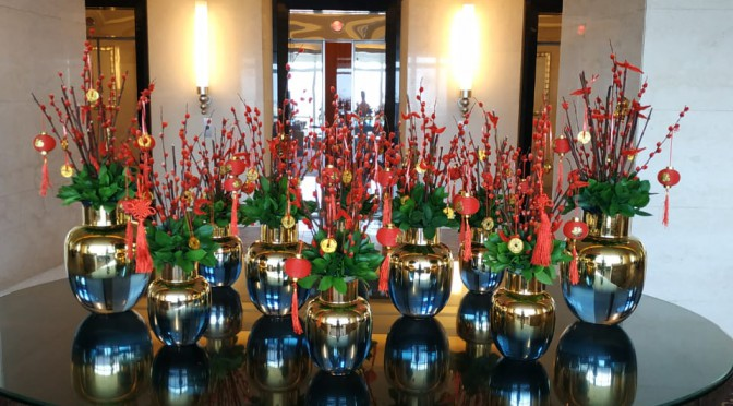 Ritz Carlton Pacific Place Hotel: Chinese New Year Celebration