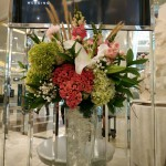Center Piece: Ritz Carlton Pacific Place Wedding Gallery Pacific Place Mall Look and Feel by Gria Florist.