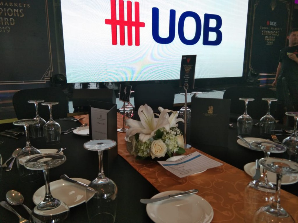 Bank UOB Indonesia - Power Lunch with Bank UOB Indonesia - Floral Decoration by Gria Florist
